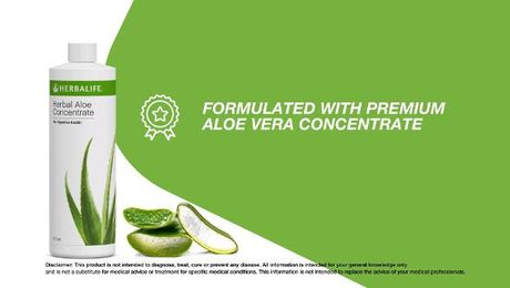 Product Spotlight on Herbal Aloe Concentrate