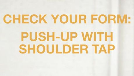 Push-up with Shoulder Tap Workout