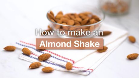 Asian Recipe - Almond Shake