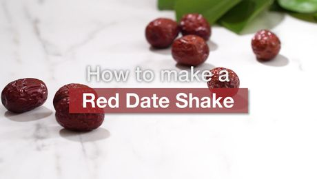 Asian Recipe - Red Date Shake
