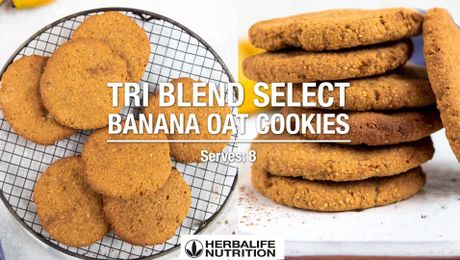 Tri Blend Select Banana Oat Cookies