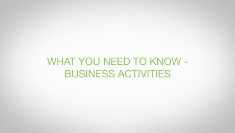 Business Activities- Export