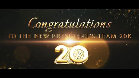 President's Team 15K and 20K Recognition