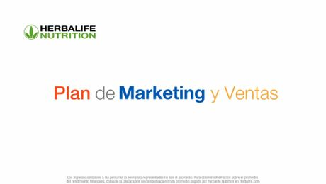 Nuevo Vídeo Plan de Marketing y Ventas de Herbalife Nutrition