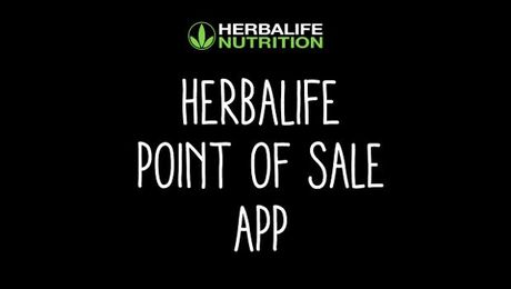 Herbalife Point of Sale App